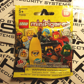 lego minifigures 16 Portland SQUARE