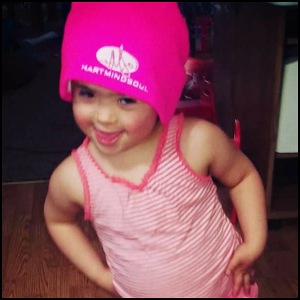 portland pink beanies HMS nation