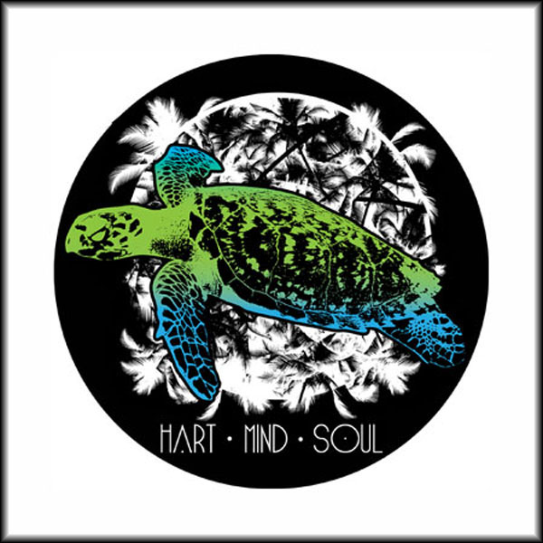 Portland sea turtle sticker