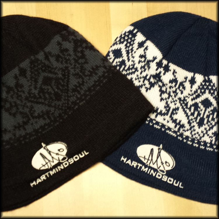 Portland Embroidery Beanies Hms Nation Hart Mind Soul