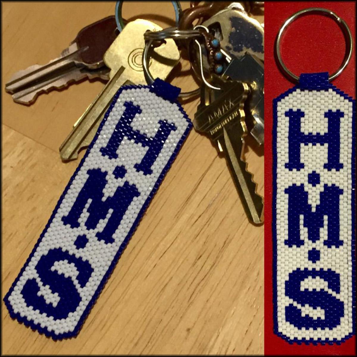 keychains HMS portland custom