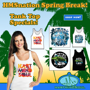 Spring Break - girls Portland tank top 2