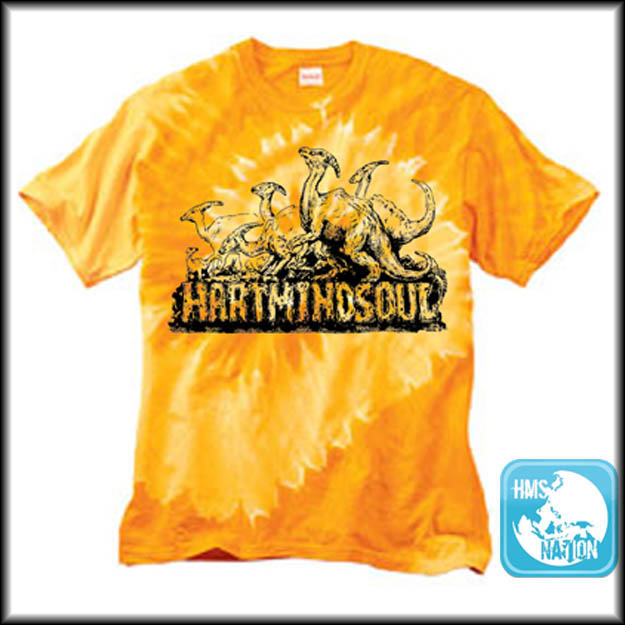 Tie Dye Printed Shirts Portland Hms Nation Hart Mind Soul