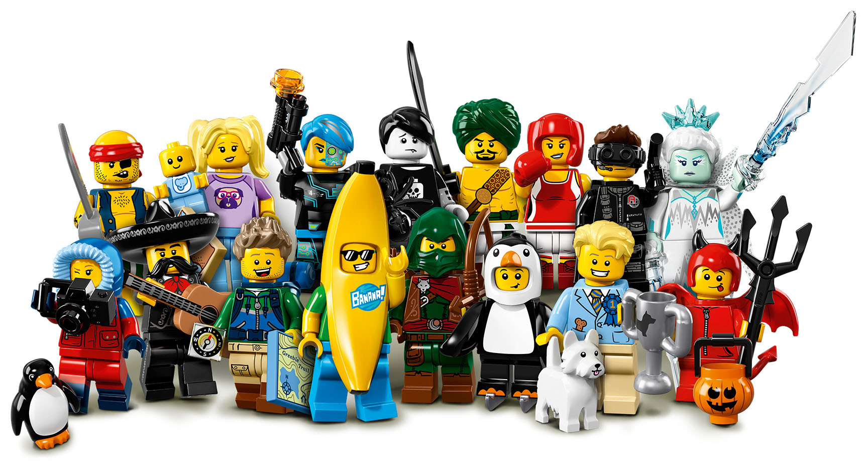 free lego minifigures Portland