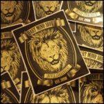 heart mind soul foil stickers