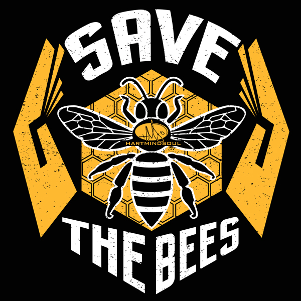 heart mind soul save the bees