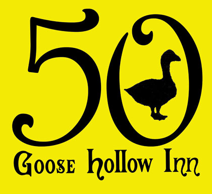 Goose Hollow Inn screen printed T shirts