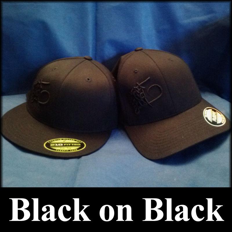 Black On Black 3d Puff Embroidery Hats Hms Nation Hart Mind Soul