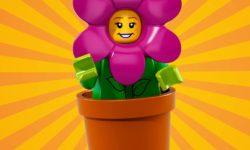 LEGO-Minifigures-Series-18-Flowerpot-Girl-free