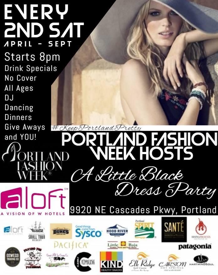 little black dress party Portland