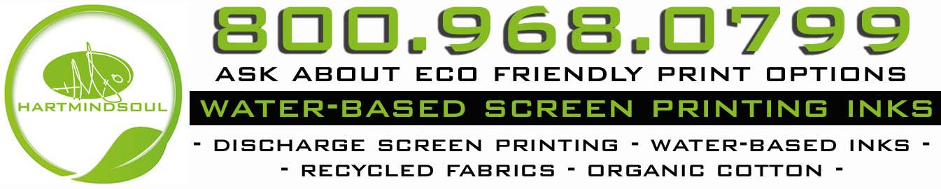 water based eco friendly screen printing